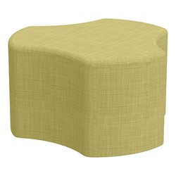 "Shapes Series II Vinyl Soft Seating - Cog (18"" High) - Green Crosshatch"