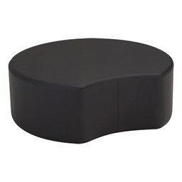 "Shapes Series II Vinyl Soft Seating - Crescent - 12"" H"