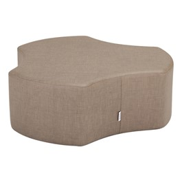 "Shapes Series II Vinyl Soft Seating - Cog (12"" High) - Bown Crosshatch"