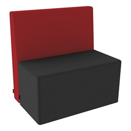 Shapes Series II Structured Soft Seating - Vinyl - Rectangle