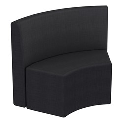 Shapes Series II Structured Vinyl Soft Seating - S-Curve - Navy Back & Seat