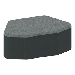 "Shapes Series II Designer Soft Seating - Petal - 12"" H"