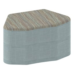 "Shapes Series II Designer Soft Seating - Petal - 18"" H"