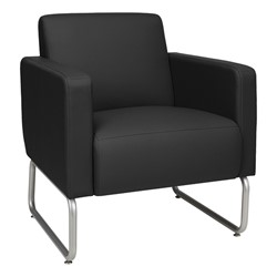Seven-Piece Modular Soft Seating Set - Club chair - Black