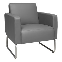 Seven-Piece Modular Soft Seating Set - Club chair - Gray