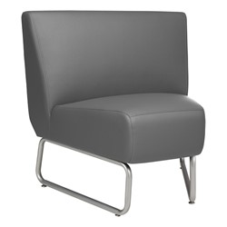 45-Degree Modular Chair - Gray
