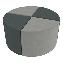 Shapes Series II Vinyl Soft Seating - Pie - Grouped