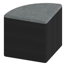 "Shapes Series II Designer Soft Seating - Pie - 18"" H"