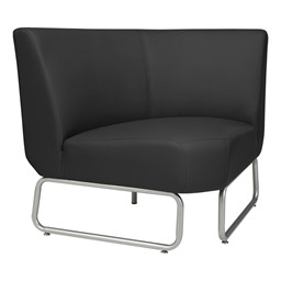 90-Degree Modular Chair - Black