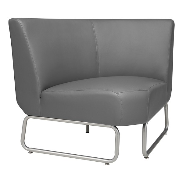 90-Degree Modular Chair - Gray