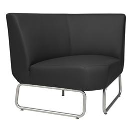 90-Degree Modular Chair - Black