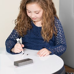 Shapes Series II Soft Seating Whiteboard Tabletop - Large Round