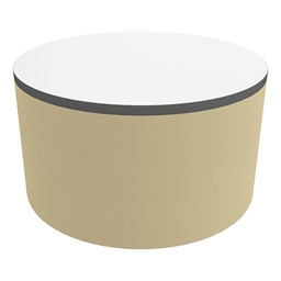 """Shapes Series II Soft Seating Tabletop - Large Round (18"""" H) - Sand Smooth Grain"""