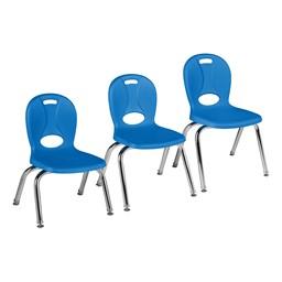 Structure Series Preschool Chair - Brilliant Blue