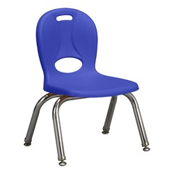 "Structure Series Preschool Chair (10"" Seat Height) - Blue"