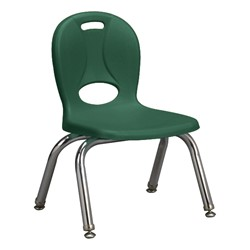 "Structure Series Preschool Chair (10"" Seat Height) - Green"