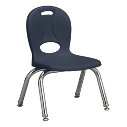 "Structure Series Preschool Chair (10"" Seat Height) - Navy"