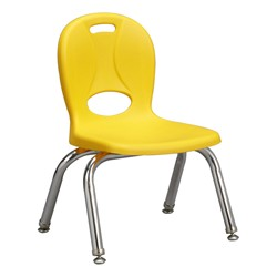 "Structure Series Preschool Chair (10"" Seat Height) - Yellow"