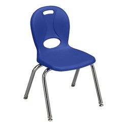 """Trapezoid Adjustable-Height Preschool Table & Four Structure Chairs - (30"""" W x 60"""" L) - 14"""" Seat Height - Chair"""