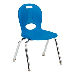 "Structure Series School Chair (14"" Seat Height) - Brilliant Blue"