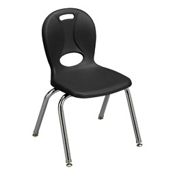"Structure Series School Chair (14"" Seat Height) - Black"