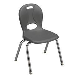 """Structure Series School Chair (14"""" Seat Height) - Graphite"""