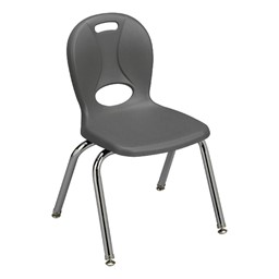 "Structure Series School Chair (14"" Seat Height) - Graphite"