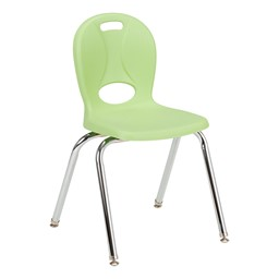 """Structure Series School Chair (16"""" Seat Height) - Green Apple"""