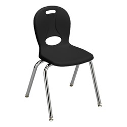 "Structure Series School Chair (16"" Seat Height) - Black"