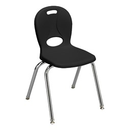 """Structure Series School Chair (16"""" Seat Height) Black"""