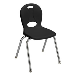 "Structure Series School Chair (16"" Seat Height) Black"
