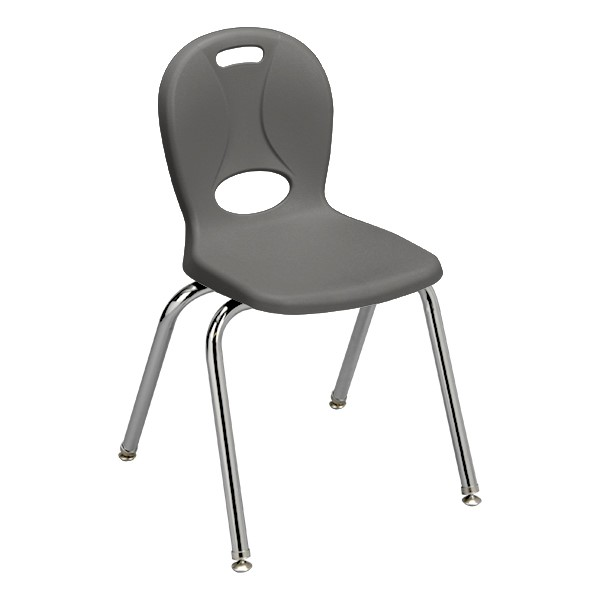 """Structure Series School Chair (16"""" Seat Height) - Graphite"""