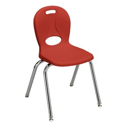 "Structure Series School Chair (16"" Seat Height) - Red"