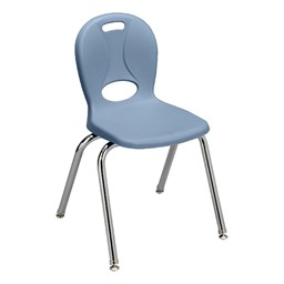 """Structure Series School Chair (16"""" Seat Height) - Sky Blue"""