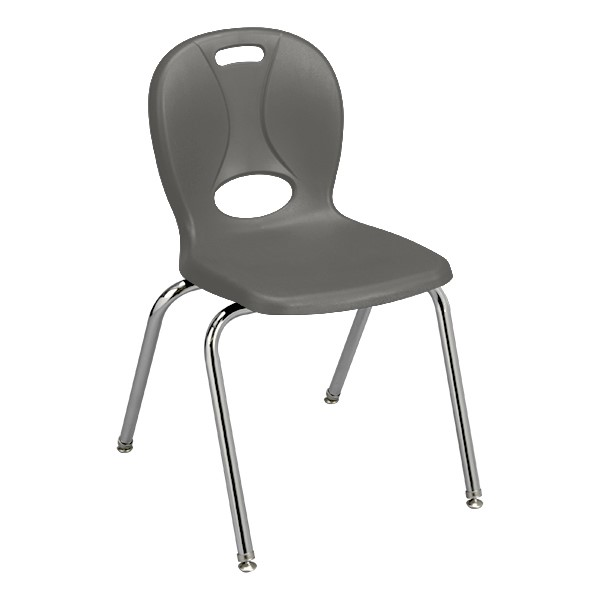 """Structure Series School Chair (18"""" Seat Height) - Graphite"""