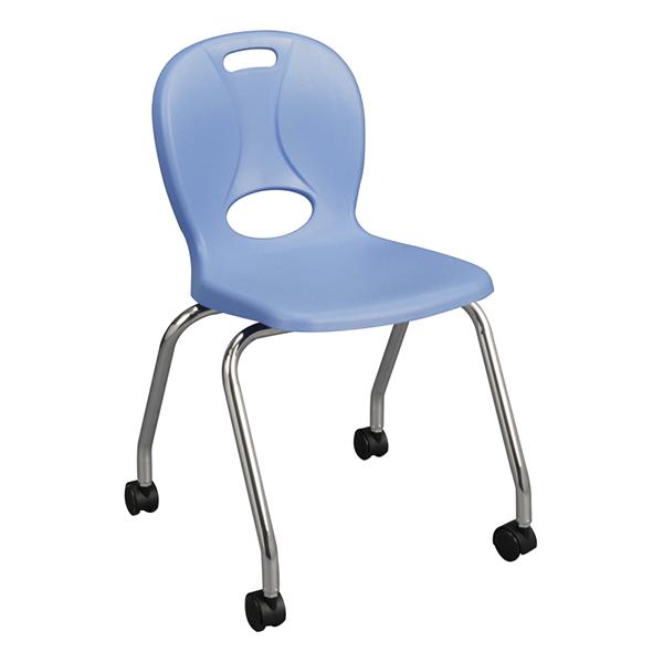 blue school chair. Mobile Structure Series School Chair (18\\\ Blue