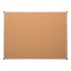 Natural Cork Board w/ Aluminum Frame