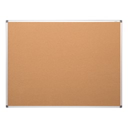 Natural Cork Board w/ Aluminum Frame
