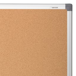 Natural Cork Board w/ Aluminum Frame - Pack of Two - Frame