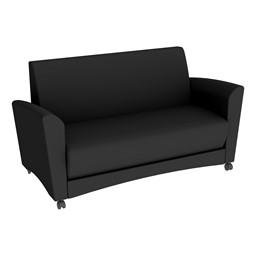 Shapes Series II Common Area Sofa - Black
