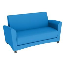 Shapes Series II Common Area Sofa - Brilliant Blue