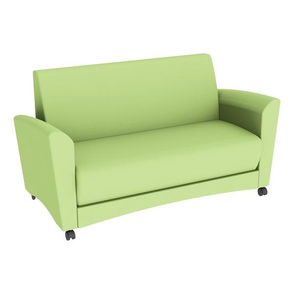 Shapes Series II Common Area Sofa - Green Apple