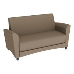 Shapes Series II Common Area Sofa - Taupe