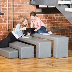 Shapes Series II Stacks Nested Soft Seating