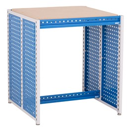 "Creation Station Workbench Kit - Square (30"" L x 30\"" D x 36\"" H)"