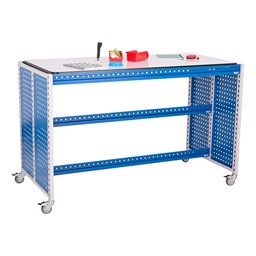 "Creation Station Workbench Kit - Rectangle (60"" W x 30"" D x 36"" H) - Bin sold separately (accessories not included)"