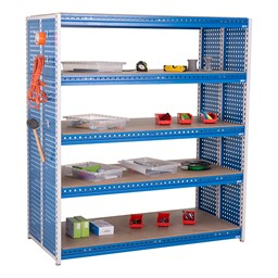 """Creation Station Shelving Unit Kit (60"""" L x 30"""" D x 70"""" H) - Bins sold separately (accessories not included)"""