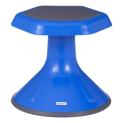 "Active Learning Stool (12"" Stool Height) - Shown in Blue"