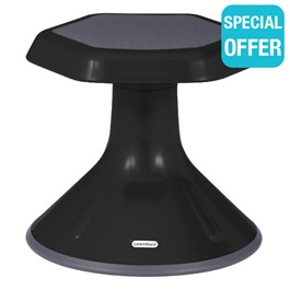 "Active Learning Stool (12"" Stool Height) - Black"