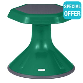 "Active Learning Stool (12"" Stool Height) - Green"